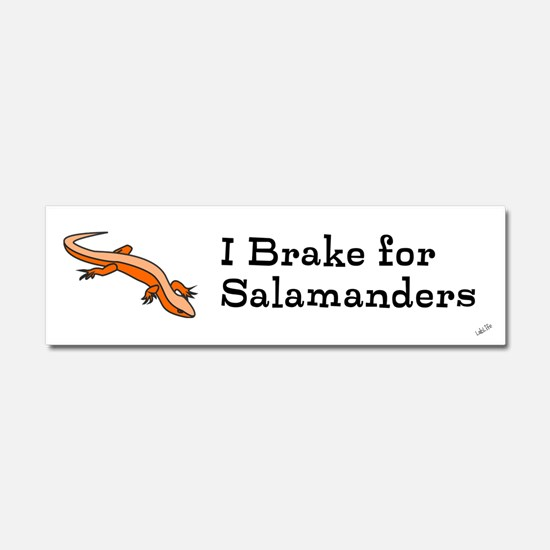 Cute Salamanders Car Magnet 10 x 3