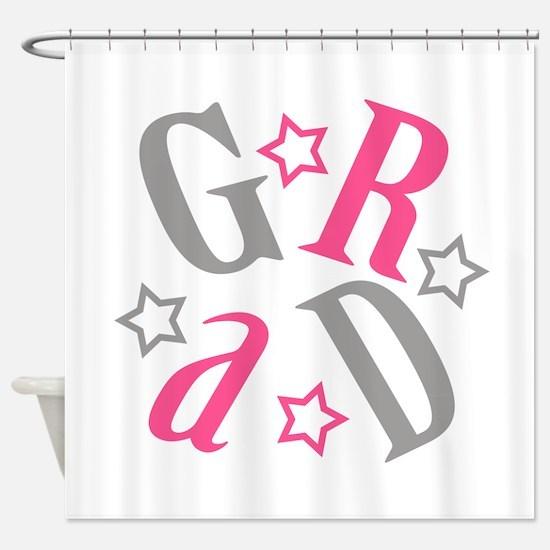 Cute Graduate Shower Curtain