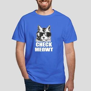 Check Meowt Dark T-Shirt