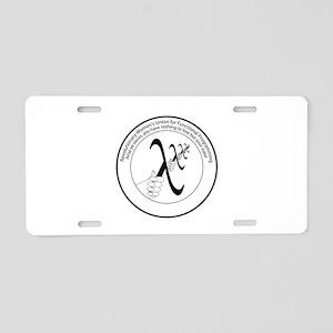 RWUFP Aluminum License Plate