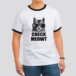 Check Meowt Ringer T