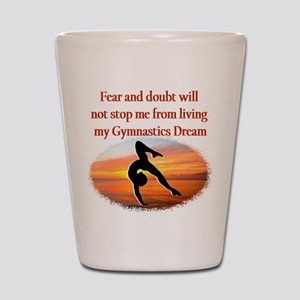 AWESOME GYMNAST Shot Glass