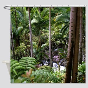 Hawaiian Jungle Shower Curtain