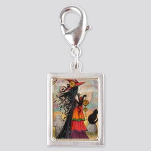 Witch Way Halloween Witch Art Charms