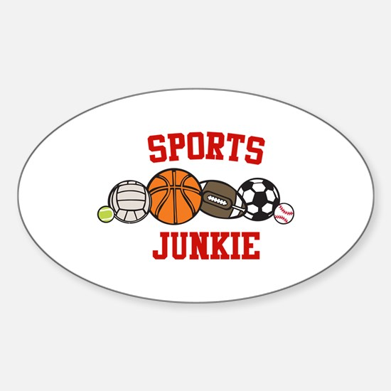 Sports Junkie Decal