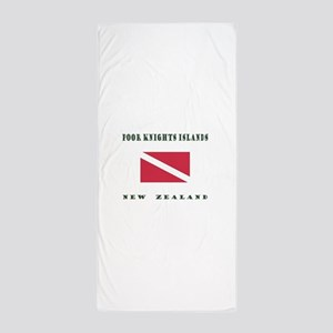 Poor Knights Islands New Zealand Dive Beach Towel