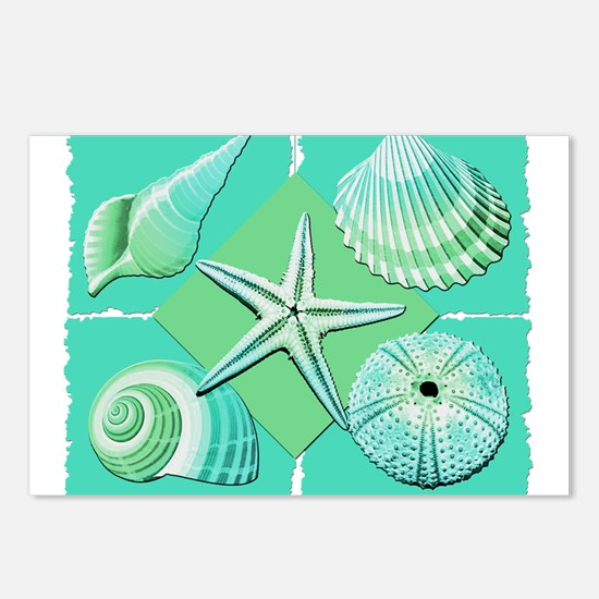 Unique Starfish beach Postcards (Package of 8)