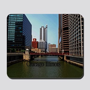 Chicago Illinois Mousepad