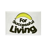 humorous banana Rectangle Magnet (10 pack)