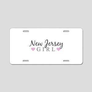 New Jersey Girl Aluminum License Plate