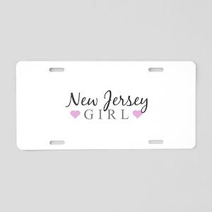 New Jersey Girl Aluminum License Plate