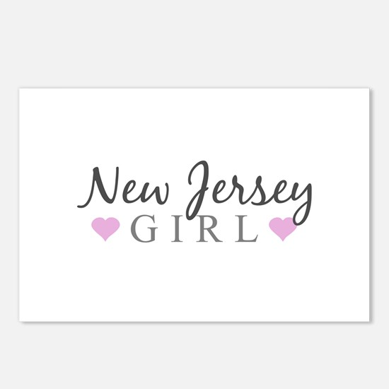 New Jersey Girl Postcards (Package of 8)