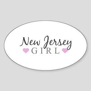 New Jersey Girl Sticker