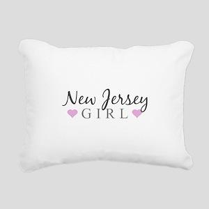 New Jersey Girl Rectangular Canvas Pillow
