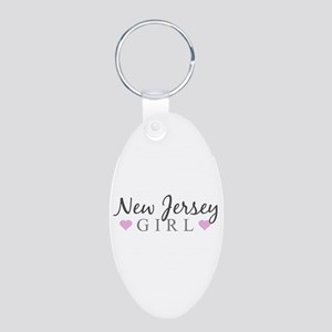 New Jersey Girl Keychains