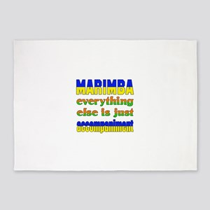 Marimba everything else is just acc 5'x7'Area Rug