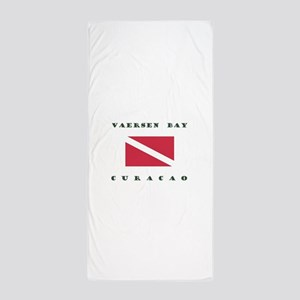 Vaersen Bay Curacao Dive Beach Towel