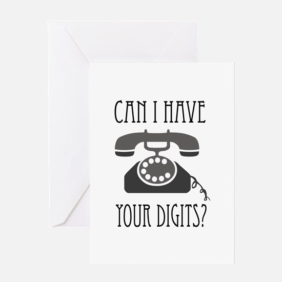 Your Digits Greeting Cards