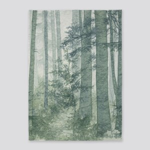 Misty Forest 5'x7'area Rug