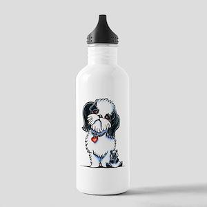 Shih Tzu Panda Water Bottle
