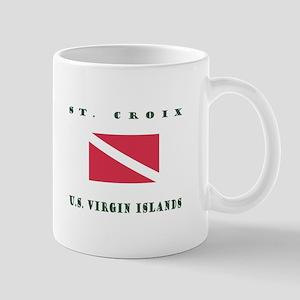 St. Croix U.S. Virgin Islands Dive Mugs