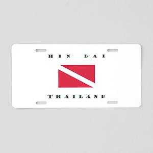 Hin Bai Thailand Dive Aluminum License Plate