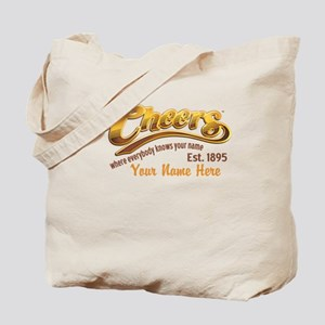 Cheers Logo Add Name Tote Bag