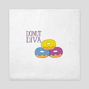 Donut Diva Queen Duvet