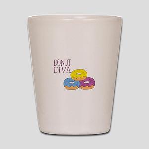 Donut Diva Shot Glass