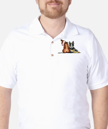 ACD and Cow Golf Shirt