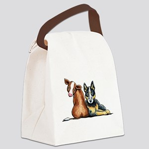 ACD and Cow Canvas Lunch Bag