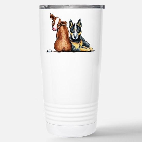 ACD and Cow Travel Mug