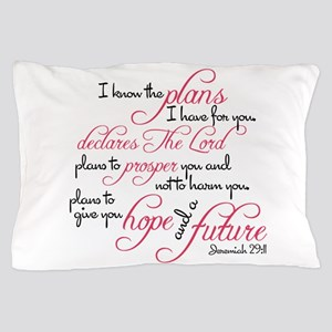Jeremiah 29:11 Design Pillow Case