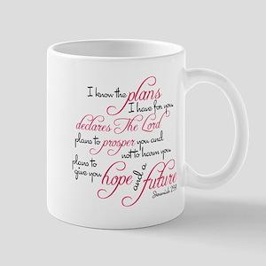 Jeremiah 29:11 Design Mug