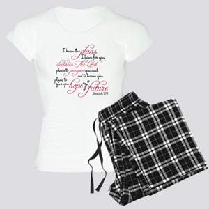 Jeremiah 29:11 Design Women's Light Pajamas