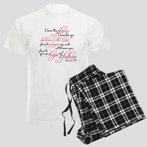 Jeremiah 29:11 Design Men's Light Pajamas