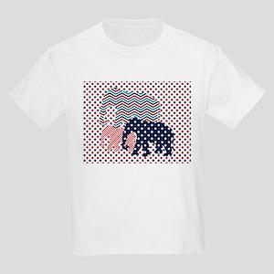 Patriotic Elephants T-Shirt