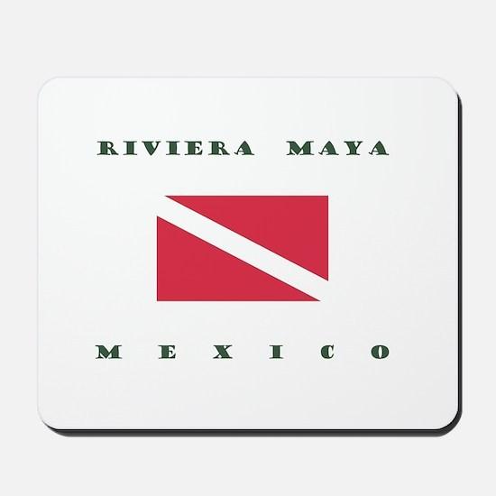Riviera Maya Mexico Dive Mousepad