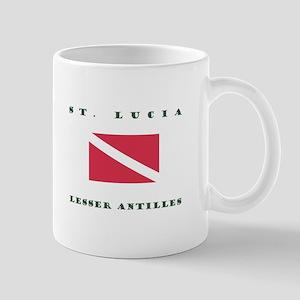 Saint Lucia Lesser Antilles Dive Mugs
