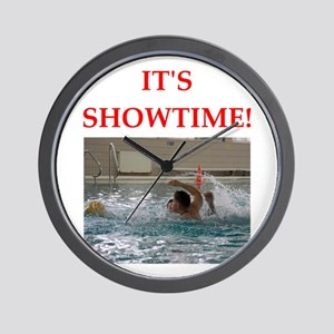 water polo Wall Clock