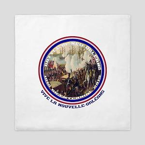 Battle Of New Orleans Queen Duvet