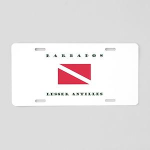 Barbados Lesser Antilles Dive Aluminum License Pla