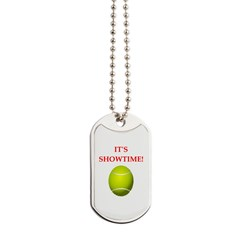 table tennis Dog Tags