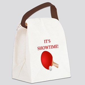 table tennis Canvas Lunch Bag