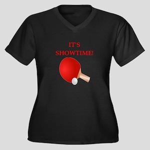 table tennis Plus Size T-Shirt