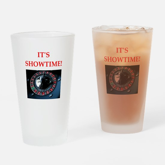 roulette Drinking Glass