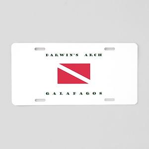 Darwins Arch Galapagos Dive Aluminum License Plate