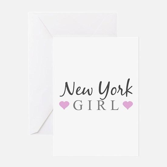 New York Girl Greeting Cards