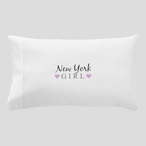 New York Girl Pillow Case