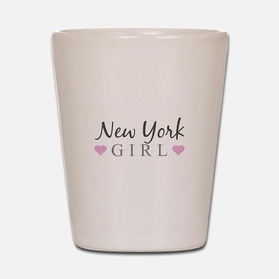 New York Girl Shot Glass